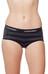 Icebreaker Sprite Hot Pants Women black/jet hthr/stripe